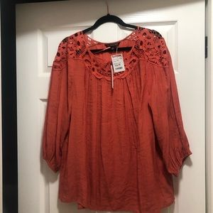 Orange Zac & Rachel Woman top
